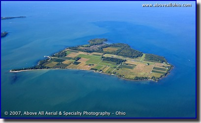 North Bass Island in Lake Erie