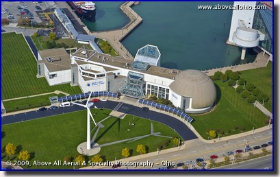 Aerial photo - Great Lakes Science Center, Cleveland, OH