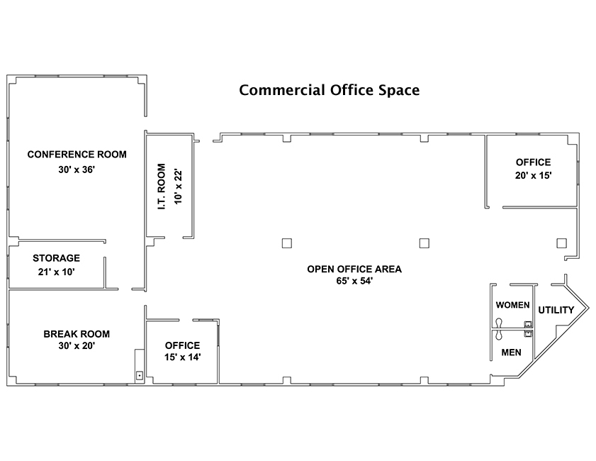 Custom Drawn Cad Floor Plans And Other Services For Real